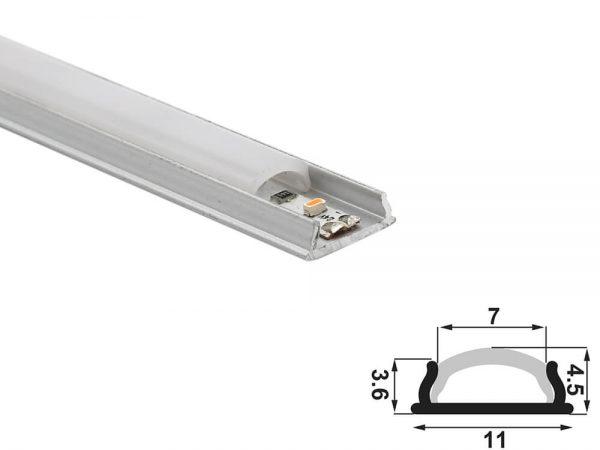 aluminium led profile ld 1145