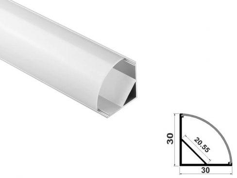 Aluminum led profile corner
