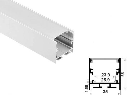 Aluminum led profile hanging mount