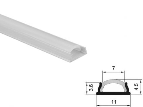 Aluminum led profile bendable
