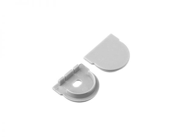 Aluminum led profile end cap