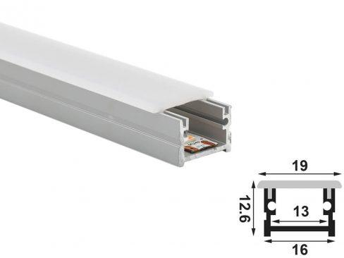 aluminium led profile 1612