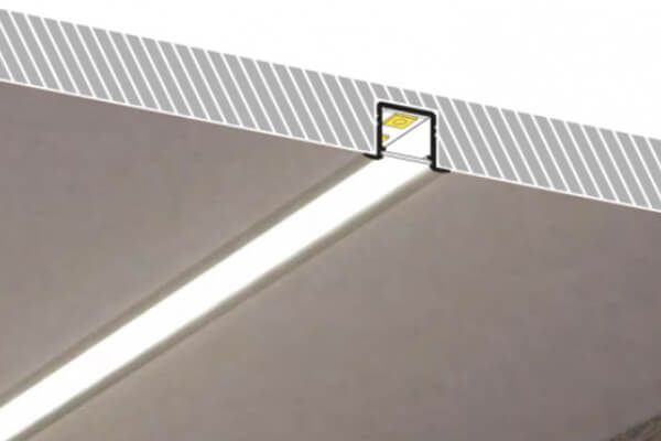 2 Recessed Mounted Led Profile