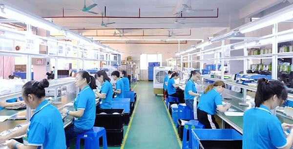 Led strip light Packaging Workshop