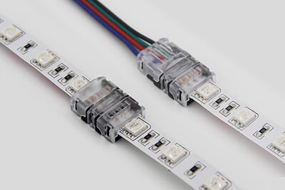 10mm Rgb Led Strip Lights Connector Ld Nl1004 Ld Nl1014