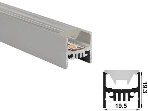 aluminium led profile ld 1919 60