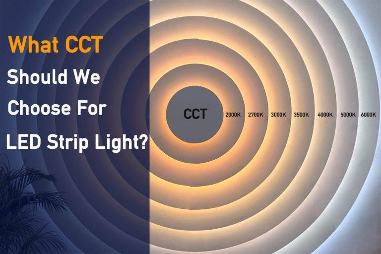 what cct should i choose for led strip lights