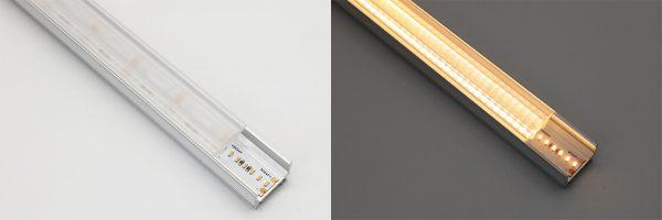 optic lens LED profile diffuser - 10 degree