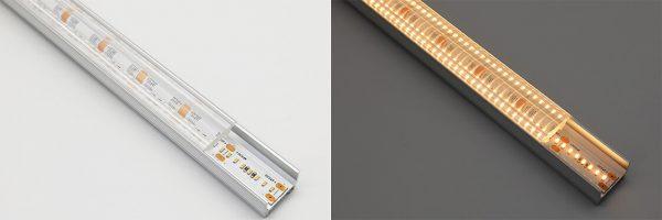 optic lens LED profile diffuser - 30 degree